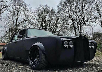 Classic Rolls-Royce Mafia Version Modification Front Right