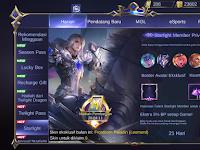 Penjelasan Tentang Starlight Member di Mobile Legends