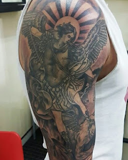St.-Michael-Tattoo