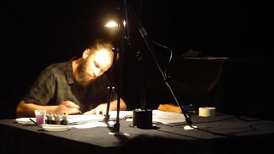 Photo festival BD6Né, Tomy Redolfi pour le concert dessiné
