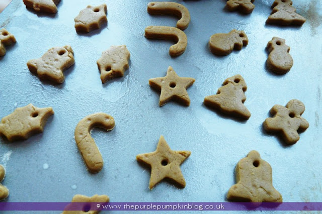 Gingerbread Christmas Tree Decorations | The Purple Pumpkin Blog