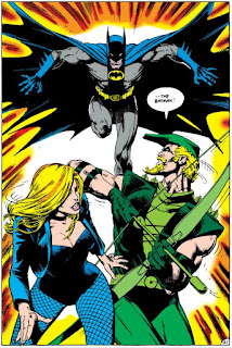 Green Arrow and Black Canary Vs Batman
