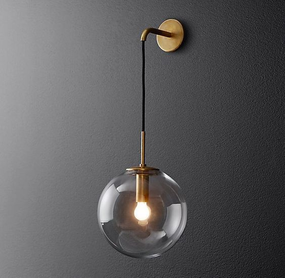 20 Pretty Cool Lighting Ideas For Contemporary Living Room: 20 Great Contemporary Interior Wall Lighting Ideas,Suited