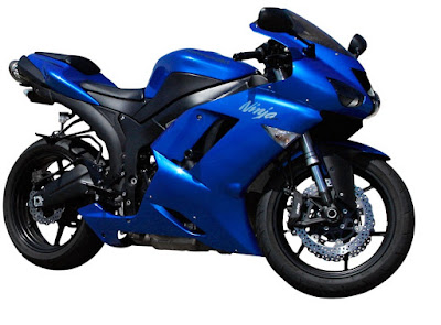 sport bike by Kawasaki Ninja