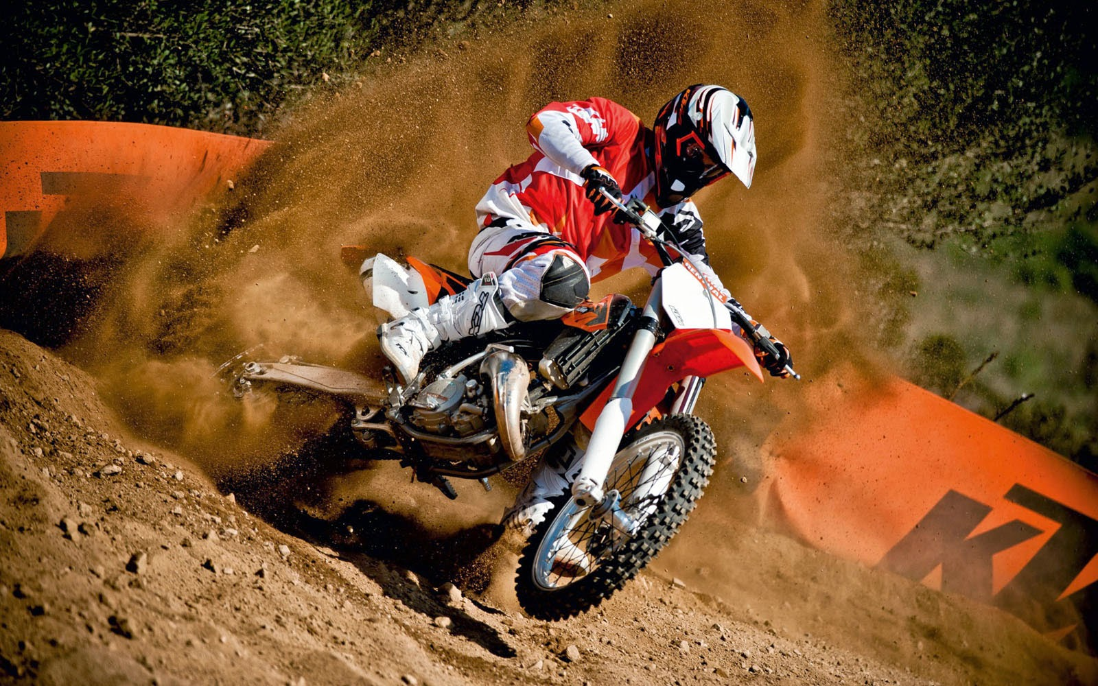 Polaris Outlaw 525 >> wallpapers: KTM 350 SX-F Wallpapers