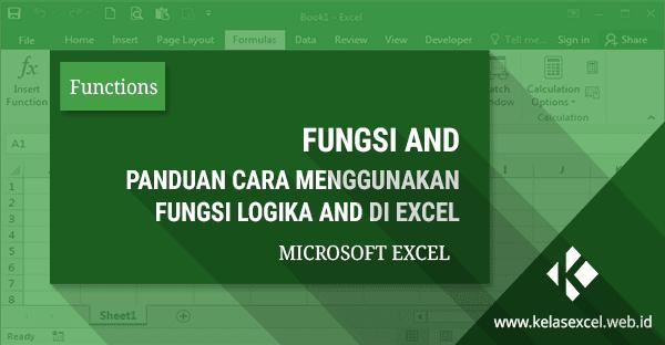 Fungsi/Rumus Logika AND Pada Microsoft Excel
