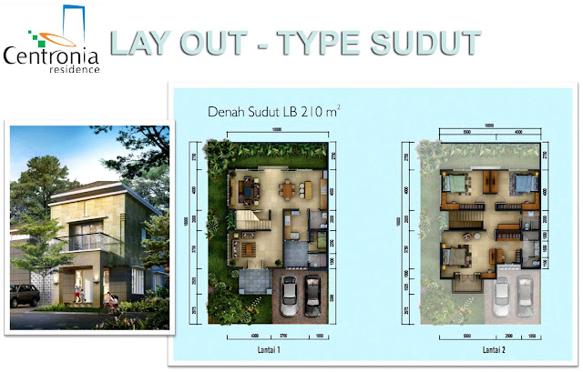 Lay-Out-Rumah-Type-Sudut-Centronia-Residence-Sentul-City