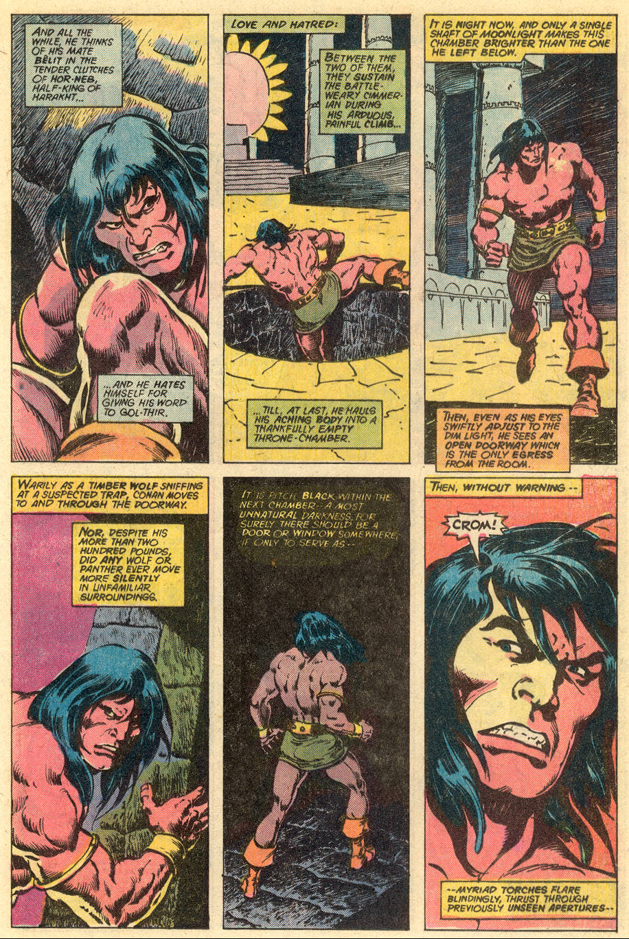 Conan the Barbarian (1970) Issue #77 #89 - English 10
