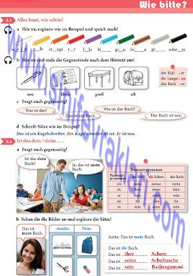9. Sınıf Almanca A1.1 Ders Kitabı Cevapları Sayfa 23