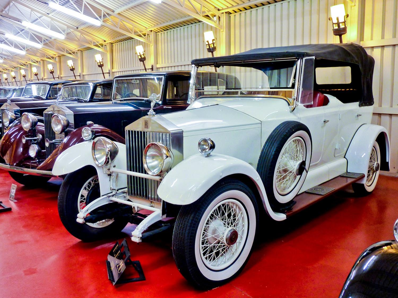 Sala de Rolls-Royce en la Torre Loizaga