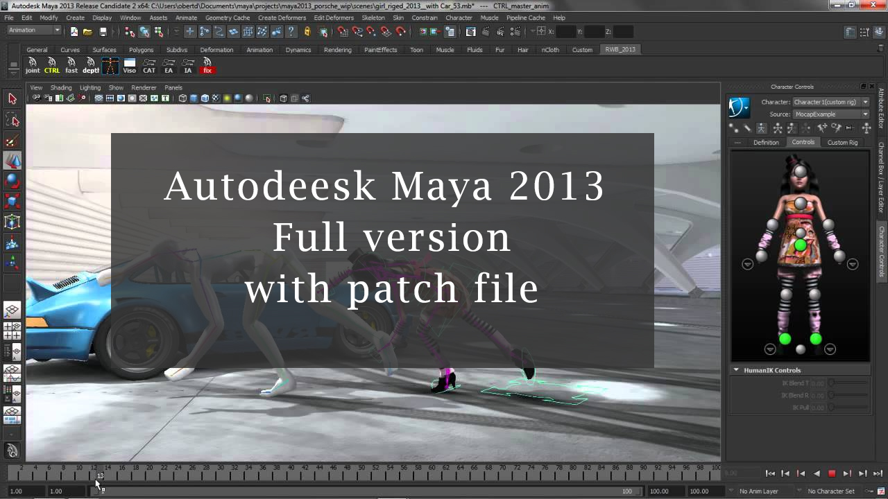 maya 2013 download with crack