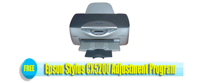 Epson Stylus CX5200 Adjustment Program