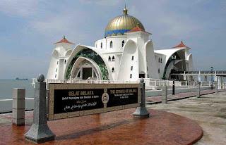 Masjid Selat Negeri Melaka