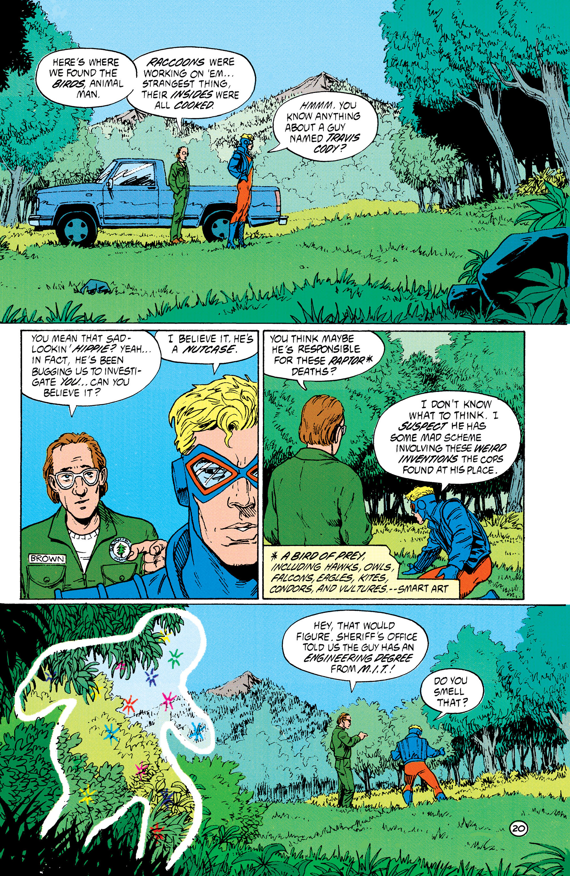 Read online Animal Man (1988) comic -  Issue #33 - 21