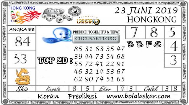 Prediksi Togel HONGKONG LASKAR4D 23  JUNI 2019