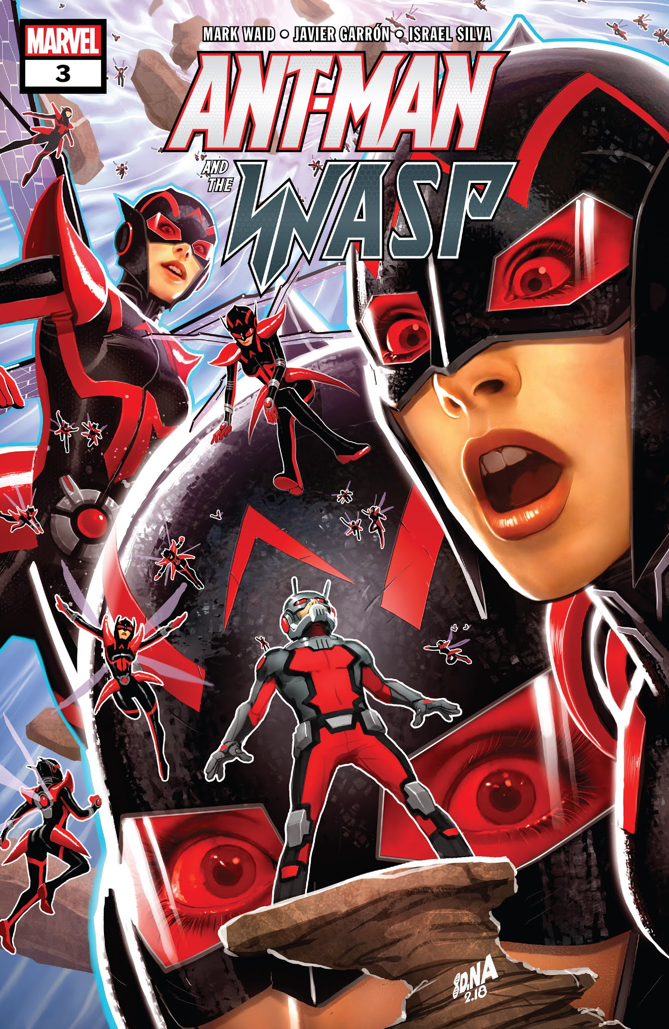 Ant-Man & The Wasp 3 Page 1