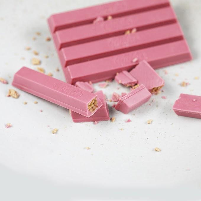 KitKat пръв представя новооткрития четвърти вид розов шоколад