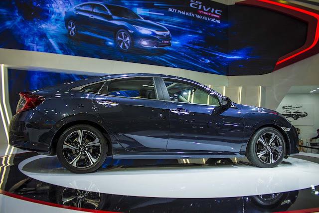 Honda Civic 2017 công bố giá bán tại Việt Nam xe honda civic 2017