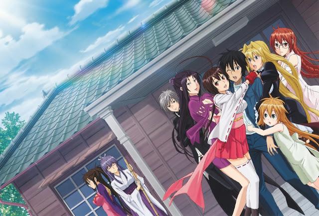 Wg8afm 30 Rekomendasi Anime Harem Terbaik