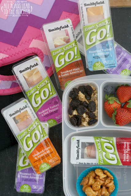 Satisfy Hunger On-the-Go with Smithfield's Ready, Snack, Go!