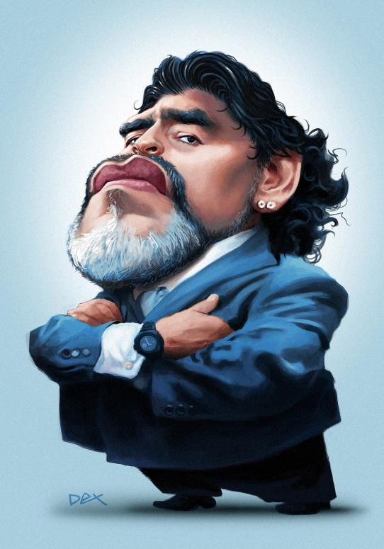 Maradona por André Bethlem