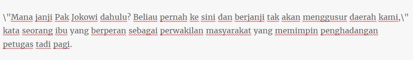 Warga Pasar Ikan Panjaringan Mempertanyakan dan menagih Janji Kontrak Politik Jokowi yang jelas di ingkari ahok - Naon Wae News
