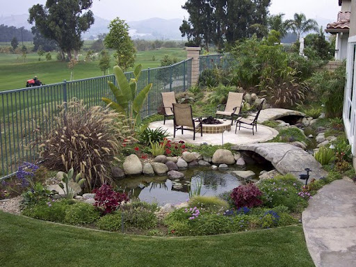 Beautifull Small Backyard Patio, Backyard patio design, backyard design ideas