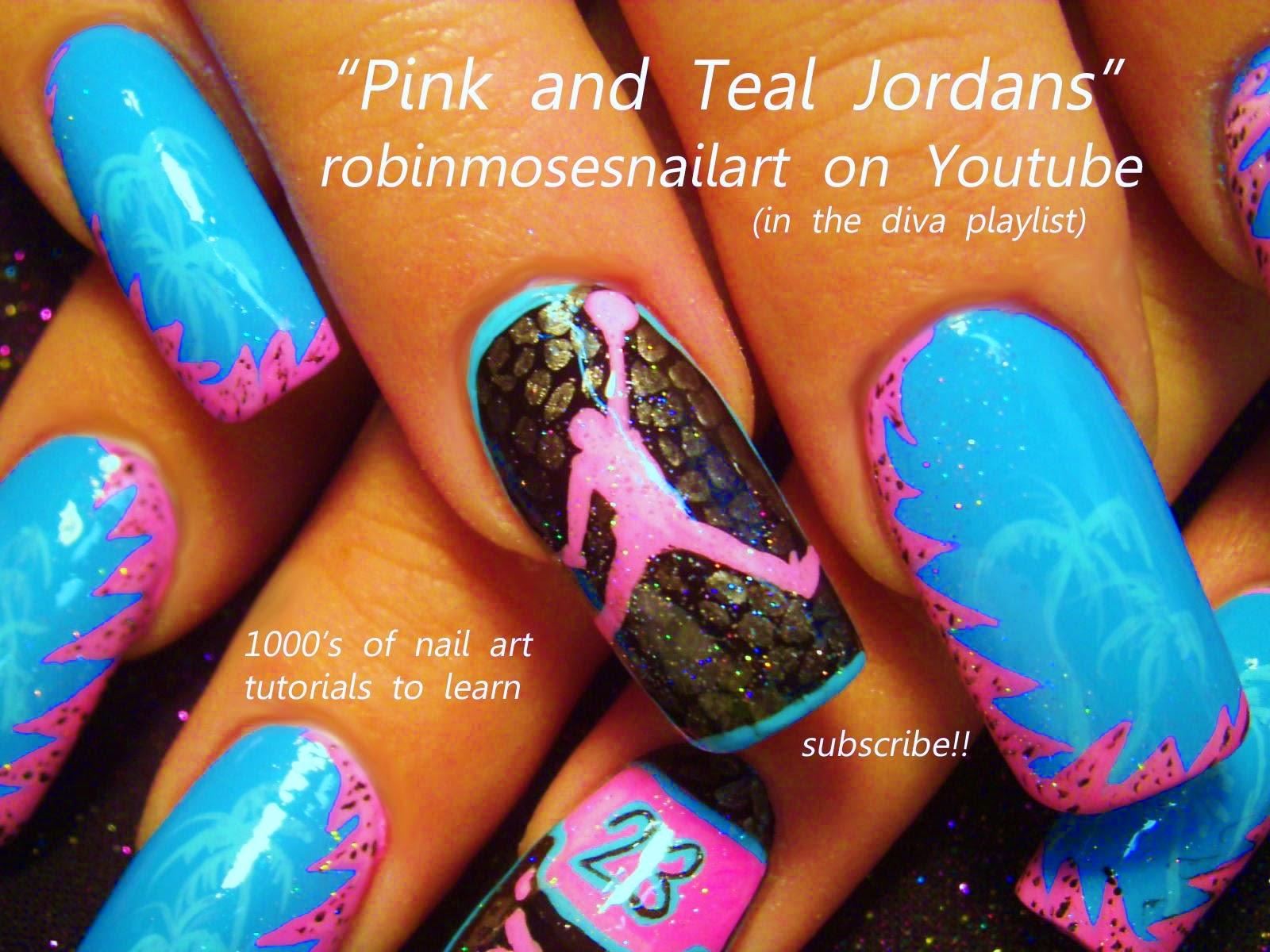 Jordan Nail Stickers Communiquerenligne