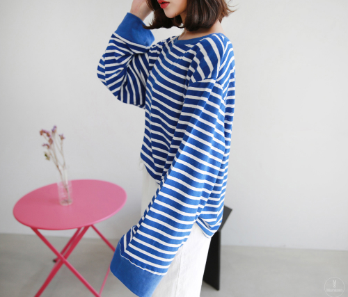 Baggy Striped Top
