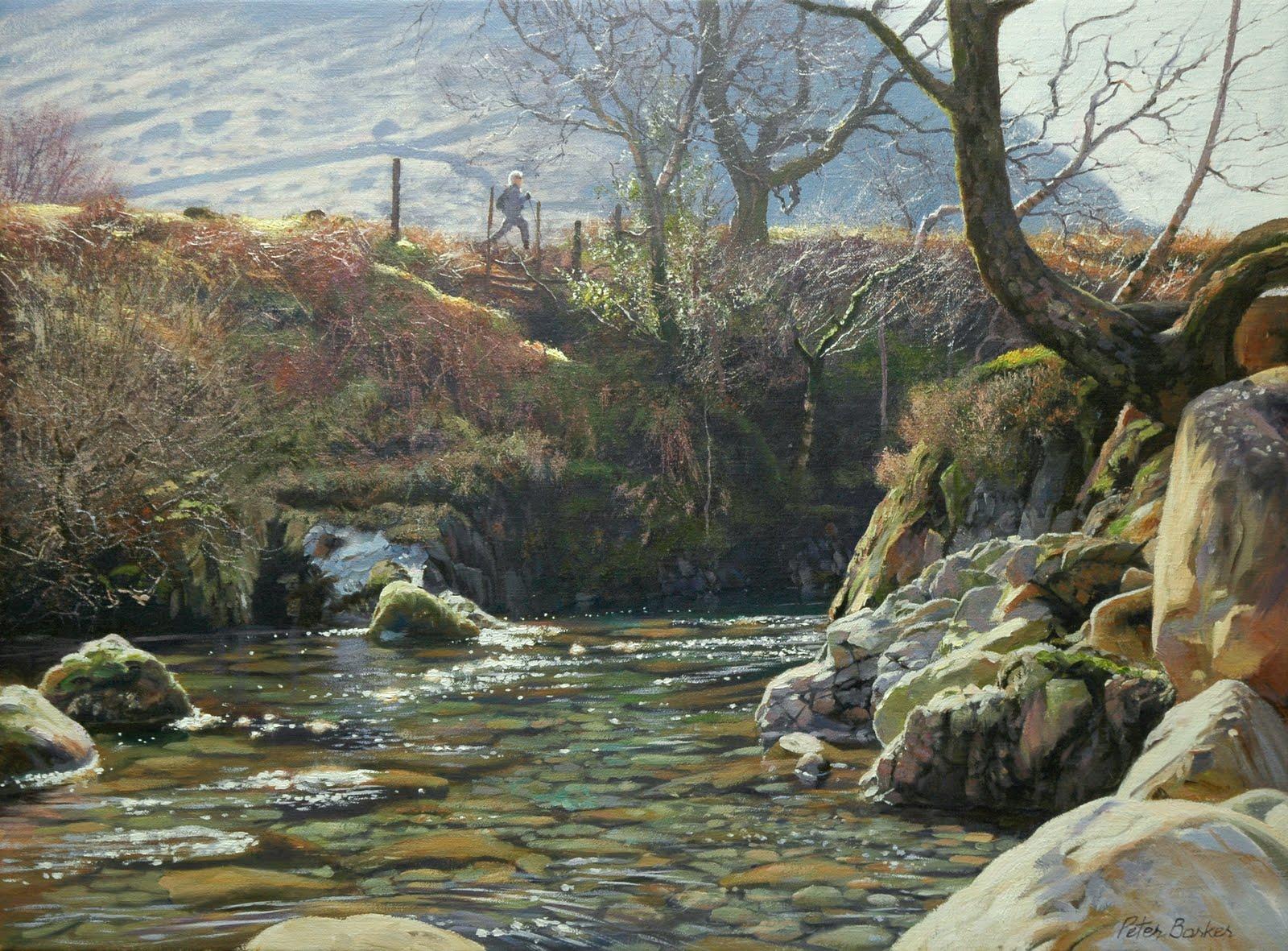 S Baker Oil Painting