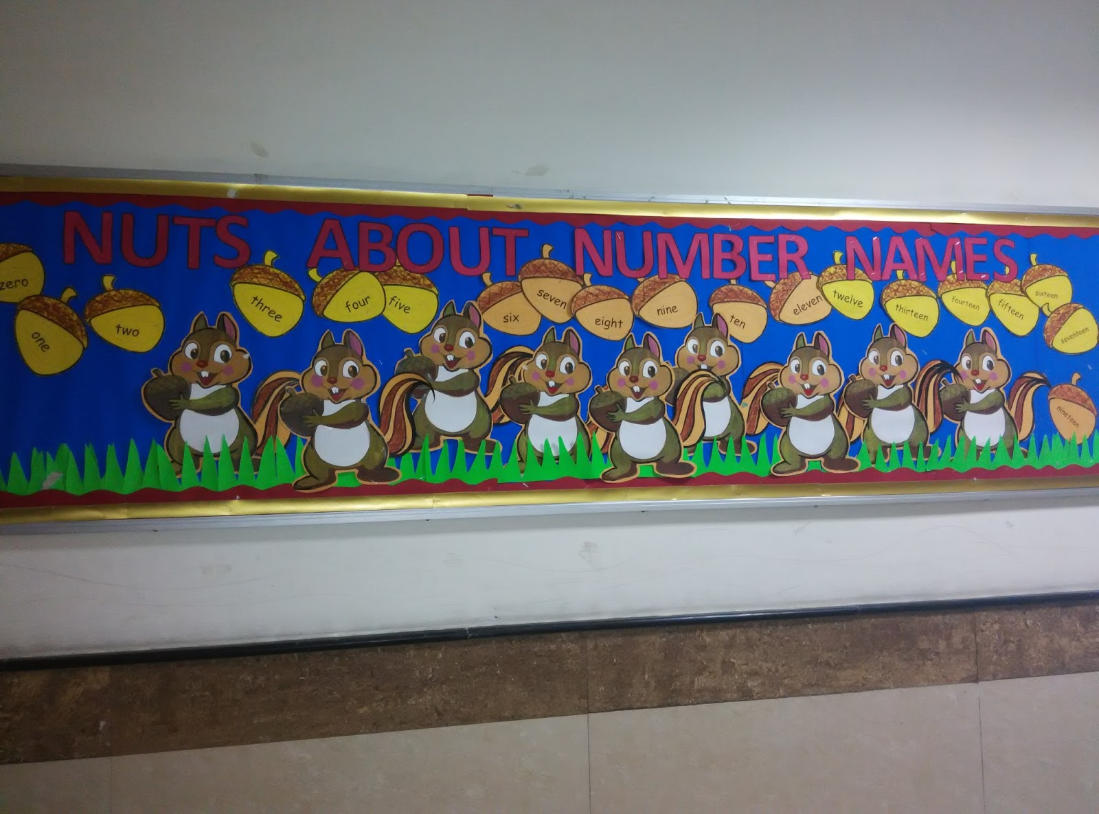 Art Craft Ideas And Bulletin Boards For Elementary Schools Numbers