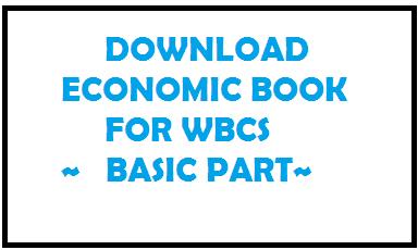 Download Economic book pdf for wbcs | upsc