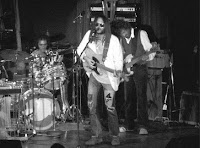Neil Young, Ralph Molina, Billy Talbot 1973