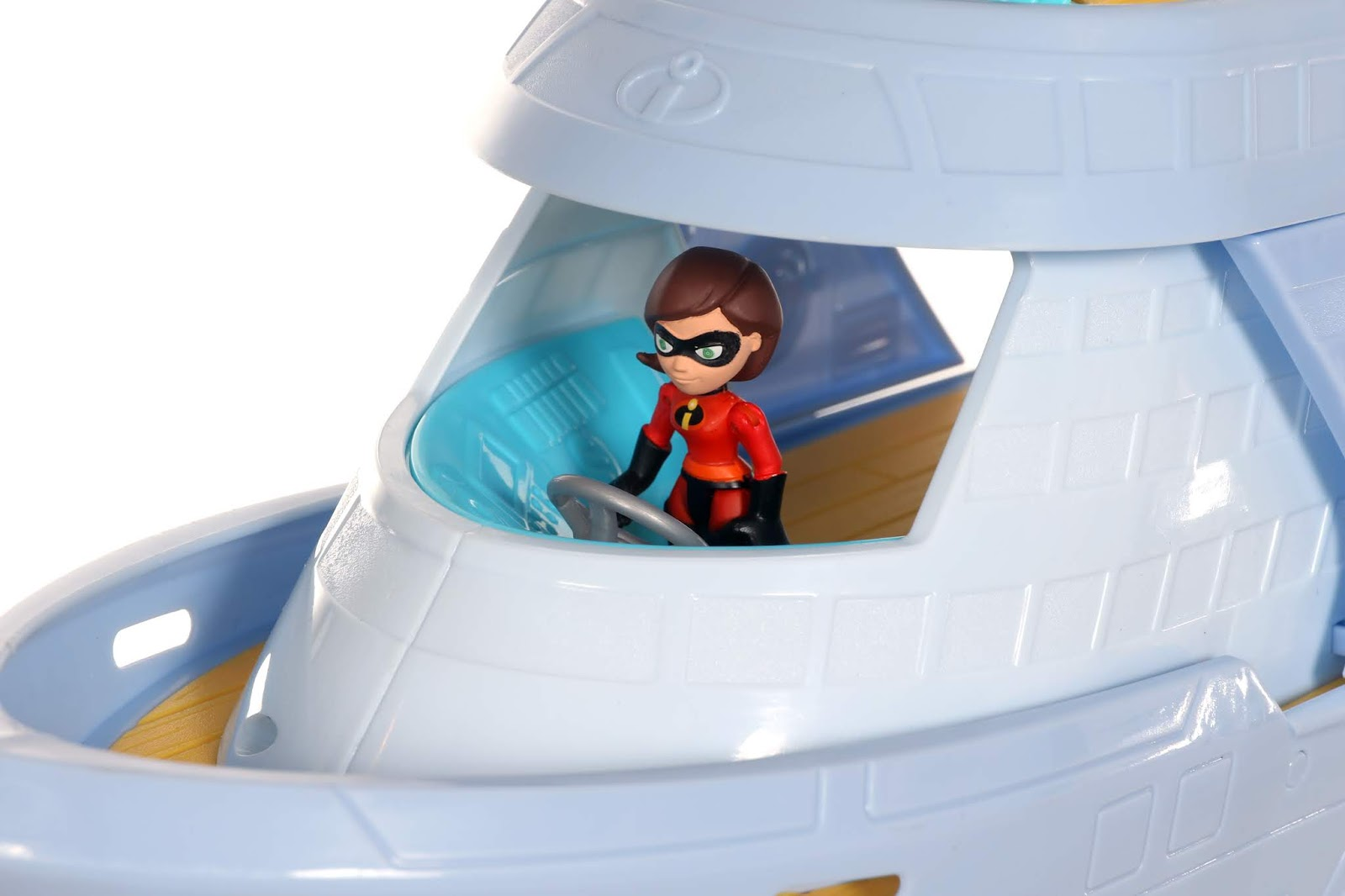 "Incredibles 2 ""Junior Supers"" Hydroliner Playset Jakks Pacific"