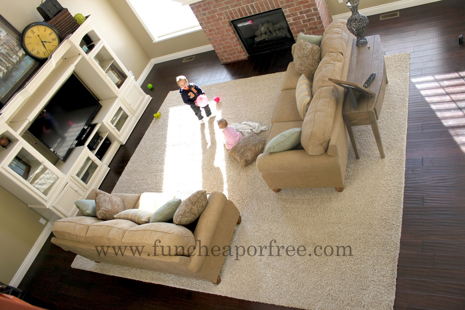 Huge Rugs For Living Room How To Make An Area Rug Out Of Remnant Carpet Fun Cheap Or Free