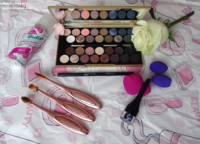 Ličila.si, Makeup Revolution, Batiste, Golden Rose in Nabla izdelki