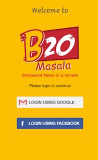 B20 Masala App Login