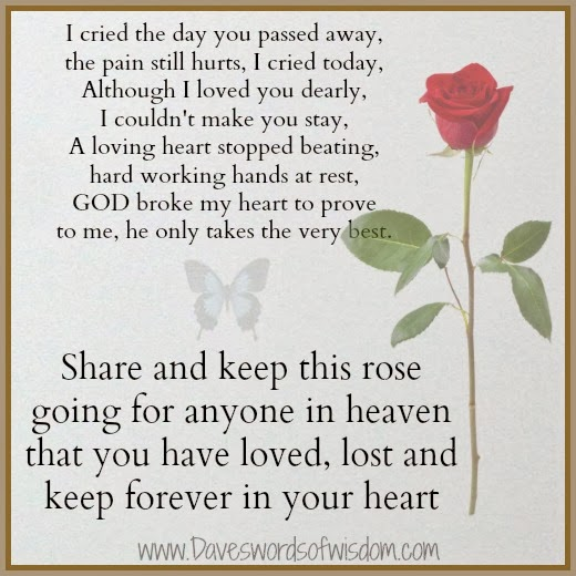 Passed Away Quotes: Quotes About Missing Mom Who Passed Away From Cancer