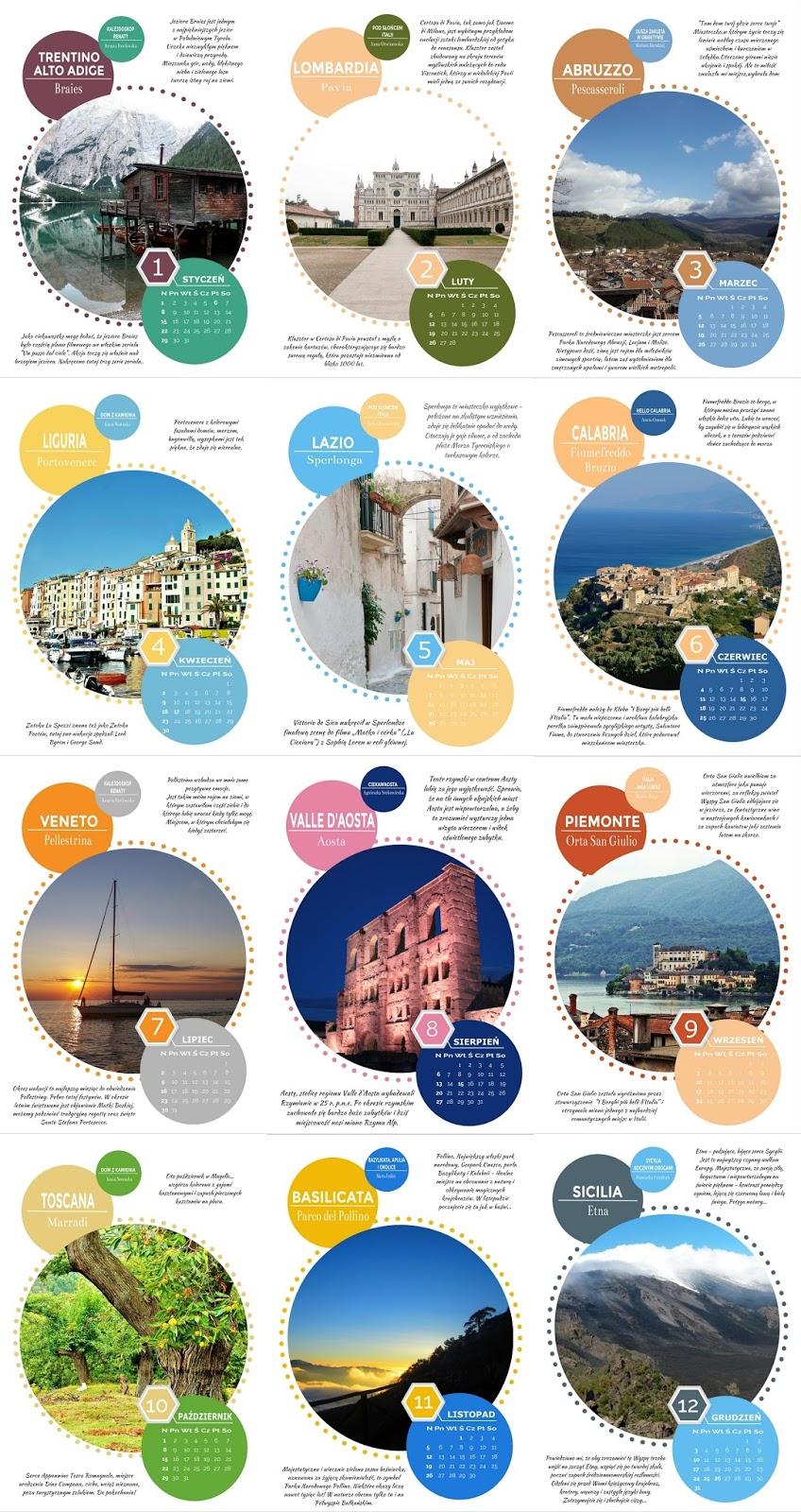 Kalendarz Italia Włochy