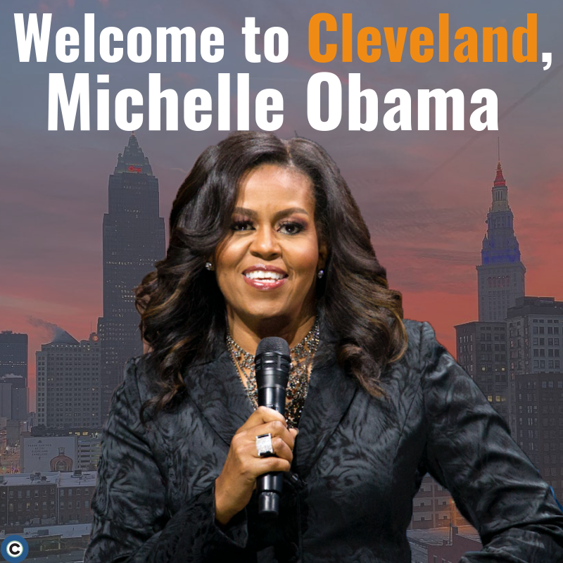 Welcome to Cleveland, Former First Lady and Book Author Michelle