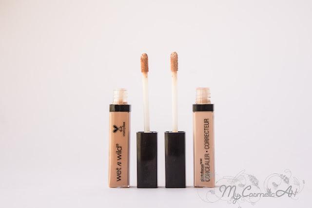 Gama PhotoFocus de Wet'n'Wild: base de maquillaje, polvos compactos y corrector.
