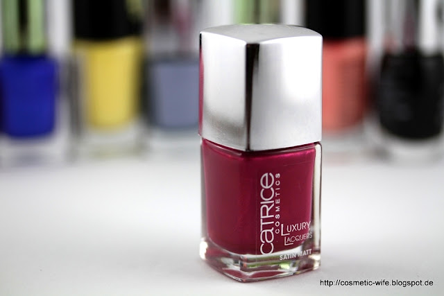 Catrice Luxury Lacquers - Miss-Terious Red