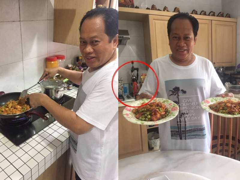Bila Ahmad Maslan Tunjuk Kepakaran Memasak, Ridsect Ada Di Dapur Tarik Perhatian & Ditegur Netizen