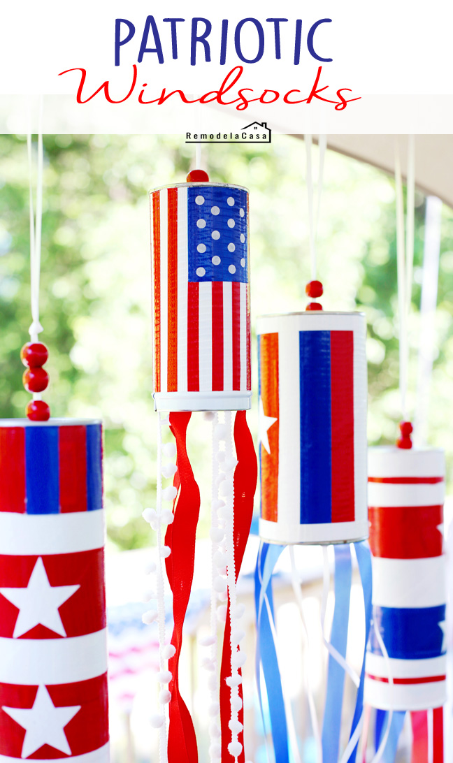 Fourth of July - Memorial day decor