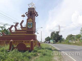 perbatasan Kabupaten Pesawaran dan Kabupaten Lampung Tengah