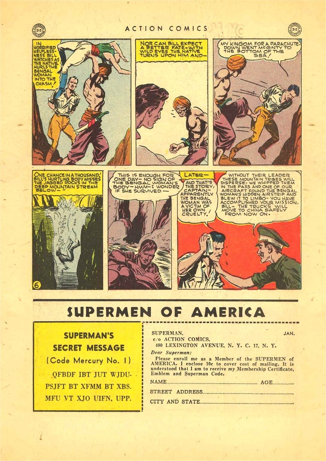 Read online Action Comics (1938) comic -  Issue #92 - 20