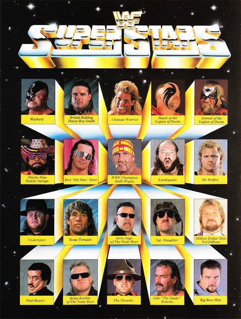 WWF SUPERSTARS CIRCA 1991