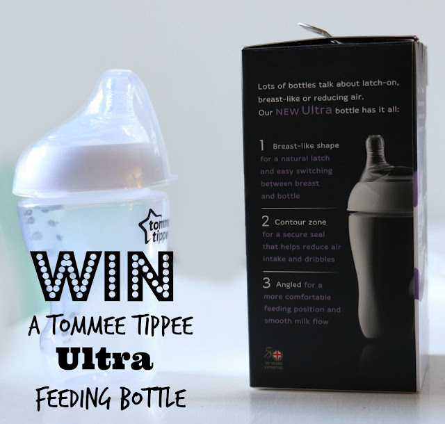blog competition to win a tommee tippee ultra feeding bottle