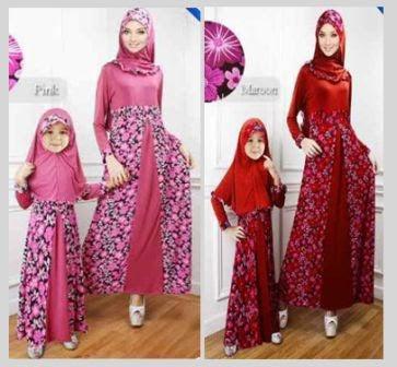 Model Baju Muslim Gamis Wanita Modern Terbaru