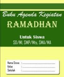 Buku Agenda ramadan